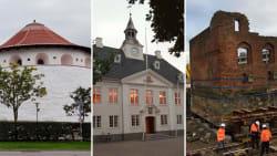 Krudttårn, rådhus og ældgammel ruin: Seks danske bygningsværker, der er blevet flyttet i ét stykke