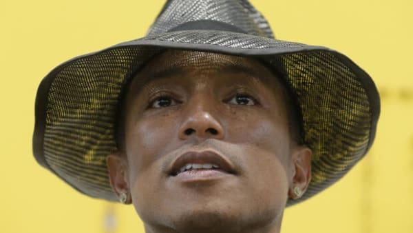 Pharrell Williams er flov over sexistisk megahit