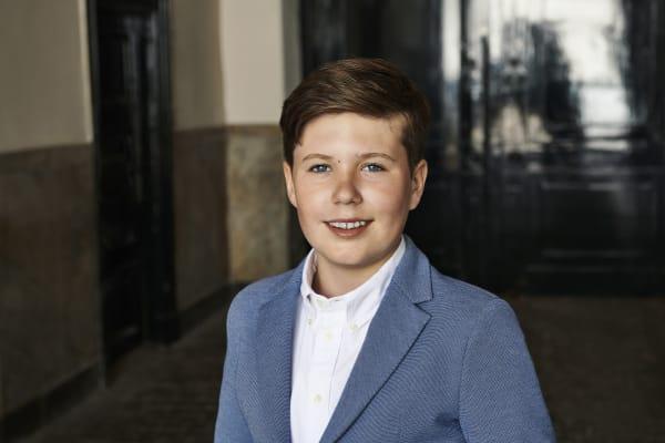 Prins Christian fylder 14 år: Her er hans liv